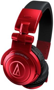 DJ Наушники Audio-Technica ATH-PRO500MK2RD